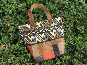 アフリカンなバッグ