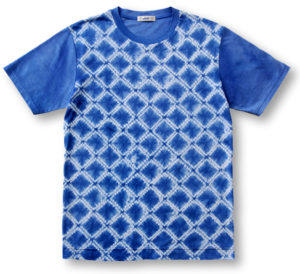 絞り染めTシャツ