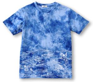 型染めTシャツ