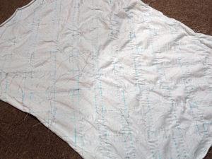 絞り染めTシャツの作り方(縫い絞り編)