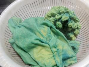 絞り染めTシャツの作り方(藍染め編)