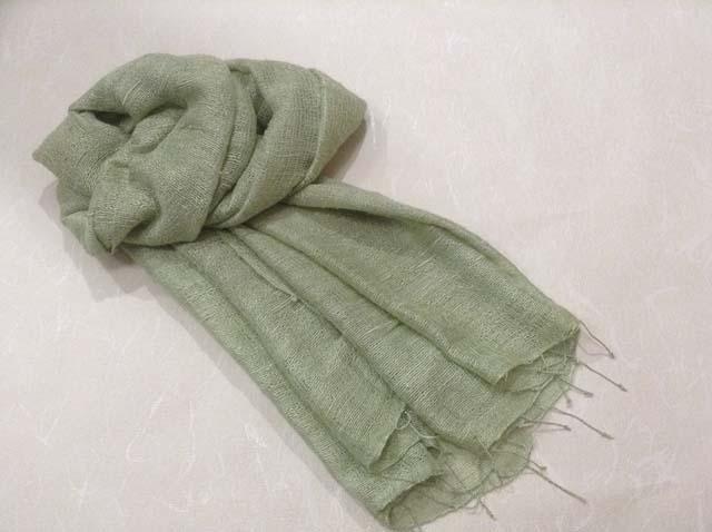 にんじん染め『スカーフ』001