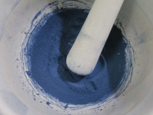 沈殿藍(泥藍)の作り方