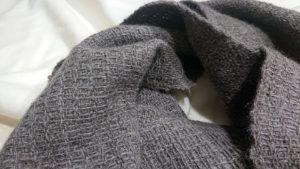 ワッフル織りのマフラー ②