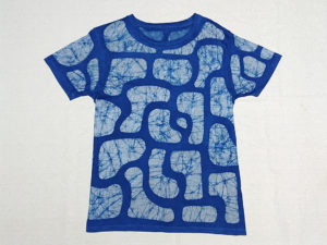 ろうけつ染めTシャツ