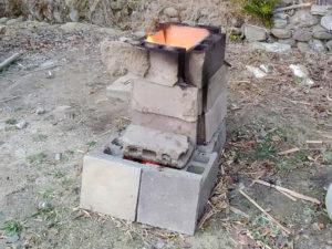 火のある暮らし