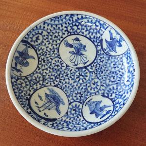 蛸唐草と小皿